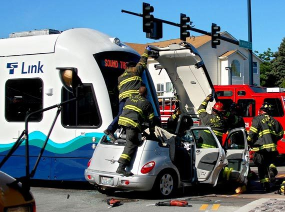 Not Vancouver but a tram accident in Seattle