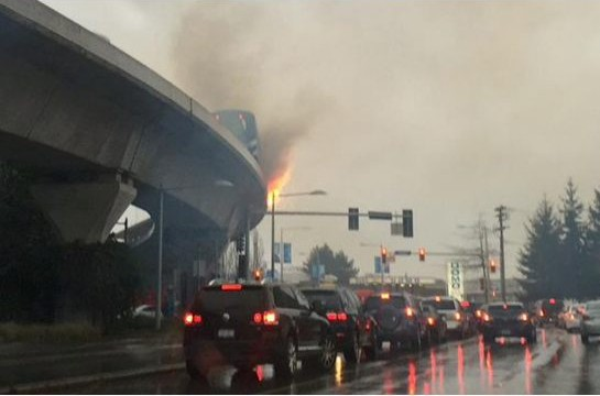 Canada Line fire