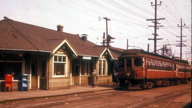 Until the 1950's one could travel the lower mainland by tram and interurban.