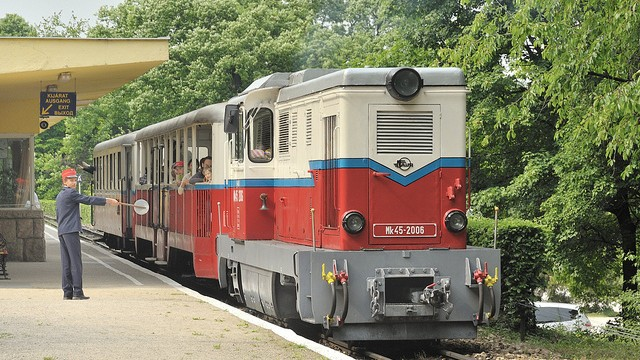The-Childrens-Railway-in-Budapest-Hungary