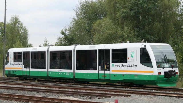 TramTrain as used in Zwikau, Germany.