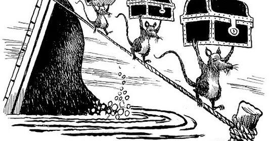 The rats leaving a sinking TransLink