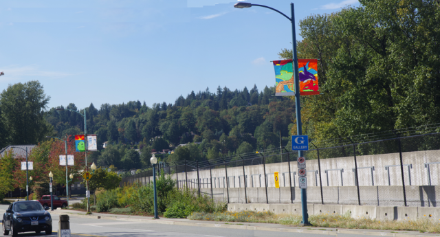 The SkyTrain wall of transit, coming to Langley, well maybe!